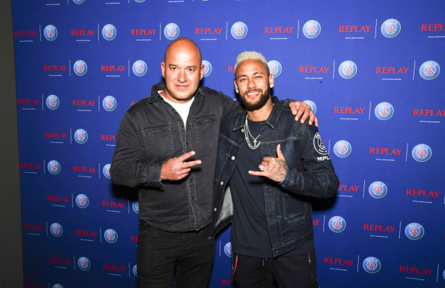 Neymar Jr. Toasts Replay x PSG Capsule – WWD