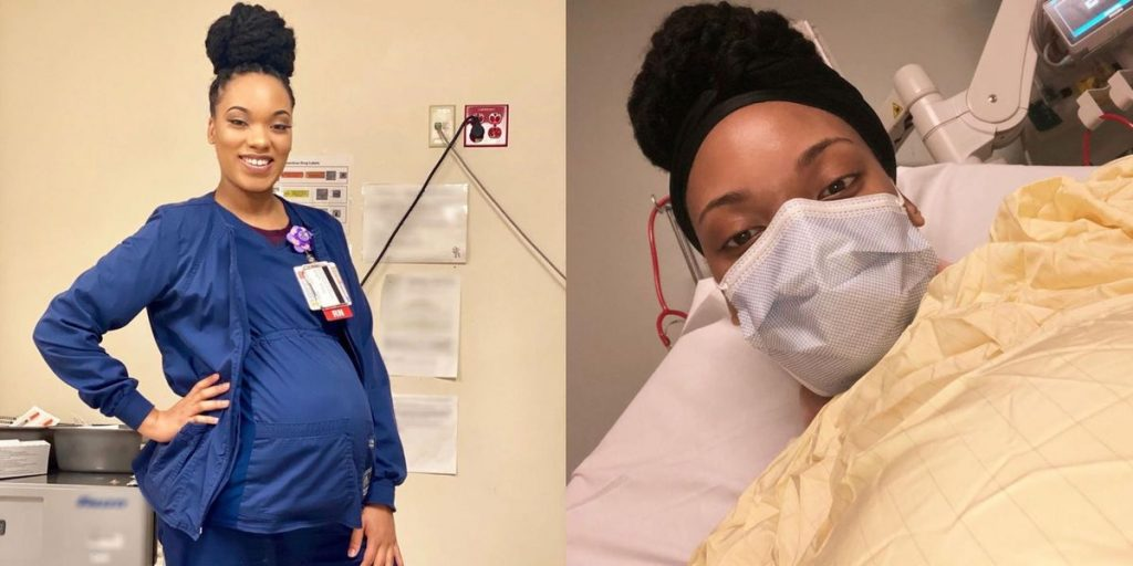Nurse Gets Covid-19 While Pregnant With Twins And Shares Symptoms
