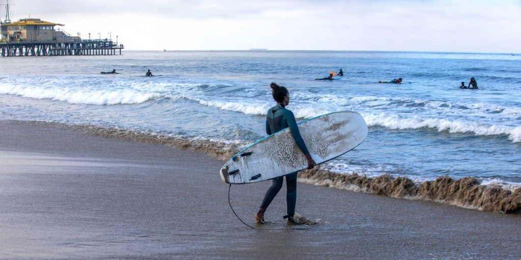 Black Women and the Solace in Surfing